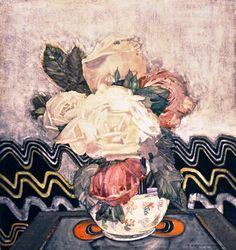 White Roses by Charles Rennie Mackintosh (Scottish 1868 – 1928)