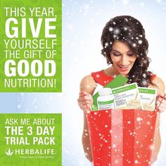 Have you started your Christmas shopping yet? Give yourself and your loved ones the gift of health! Ask me about our trial packs today!  #JoDi #missmotivator #nutritionmotivator #eatclean #foodporn #cleaneating #nutrition #healthy #healthyeating #health