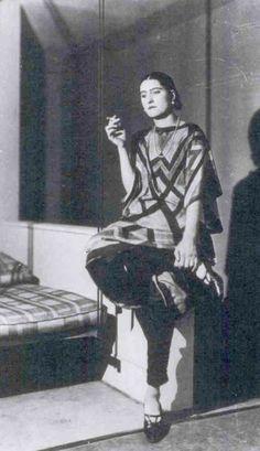 Sinais Moda: Sonia Delaunay e Art Deco design