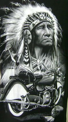 Indian motorcycles world Red Indian, Native Indian, Native Art, American Indian Art, Native American Art, American Indians, Motorcycle Posters, Motorcycle Style, Bobber Motorcycle