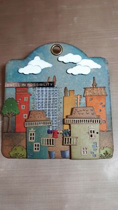 Created with Tim Holtz new die - Suburbia 2017.