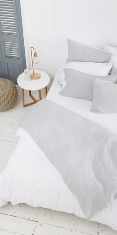 Stonewashed For Superior Softness And Comfort, The Eve Pure Linen Bedding  Is The Most Luxurious