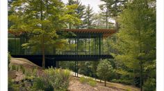 Kengo Kuma, Glass Wood House. New Canaan, Connecticut.