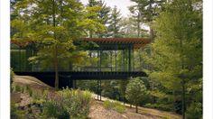 Kengo Kuma, Glass Wood House. New Canaan, Connecticut.Photo: Kengo Kuma & Associates for Glass Wood House/Taschen