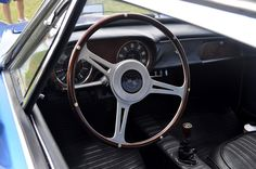 Interior of 1966 Berlinetta Willys Interlagos