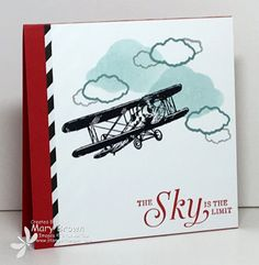 Sky is the Limit Sale-a-Bration #stampinup