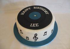 rock roll cake ideas - Google Search