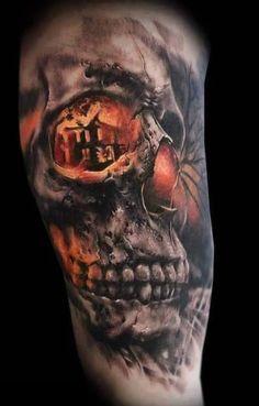 Tattoos.com | Must See Mind-blowing Skull Tattoos | Page 3