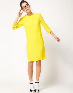 'Classic' Crepe Dress from Peter Jensen