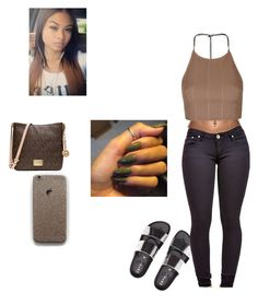 Untitled #441 by elmowatson on Polyvore featuring polyvore fashion style Topshop Michael Kors clothing