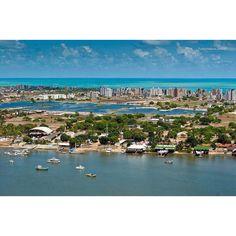 Grande João Pessoa - Praia de Intermares (Cabedelo - PB). #Paraíba - Brasil. O paraíso é aqui!