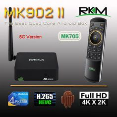Find More Set-top Boxes Information about Rikomagic RKM MK902II Quad Core Android 4.4 RK3288 2G DDR3 8G ROM Bluetooth Dual Band Wifi Gbit Ethernet[MK902II/8G+MK705],High Quality rkm mk902ii,China rikomagic rkm Suppliers, Cheap quad core android 4.4 from Rikomagic MK802 family Store on Aliexpress.com