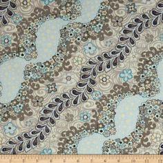 Tissus fleuris, FAT QUARTER ANDOVER FABRIC patchwork TOKYO ROCOCO est une création orginale de Revedepatch- sur DaWanda