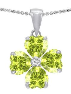 Girlfriend Gift - beautiful Clover necklace - Tell her how 'lucky' you are to have her friendship :)