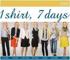 7 ways to wear