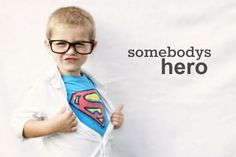 Little boy superhero photography
