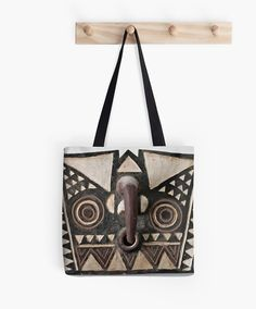 African Art Tote Bag  Featuring Exclusive by GalleriaPrimitiva