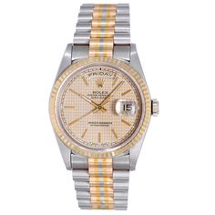 1stdibs.com   Rolex Tridor Gold President Day-Date Wristwatch