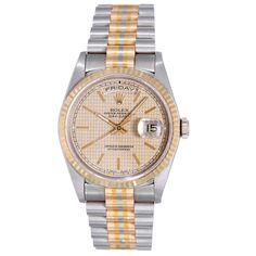 1stdibs.com | Rolex Tridor Gold President Day-Date Wristwatch