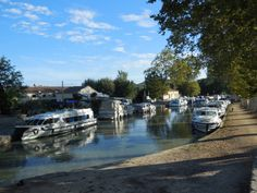 """""""The whole cruise was wonderful. We absolutely loved the Magnifique. There were 6 of us on board, and with the extra..."""" click to see what else Sharon Campbell and others had to say about their Le Boat trip on the Canal du Midi! #France"""