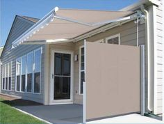 retractable privacy panel for small patios