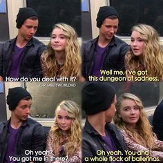 "#GirlMeetsWorld 1x20 ""Girl Meets First Date"" - Josh and Maya"