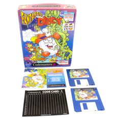 The Fantastic Adventures of Dizzy for PC by Codemasters in Big Box, 1994, CIB