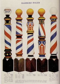 Barber Poles catalog page