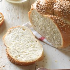 Crunchy and redolent of toasted sesame, this loaf is a great accompaniment to your favorite Italian feast.