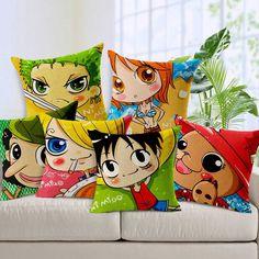 One Piece Pillows. So cute!