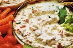 Retro Recipes, Vintage Recipes, Ethnic Recipes, Cheese Dip Recipes, Soup Recipes, Cottage Cheese Dips, Quick Dip, Cheese Curds