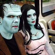 Cool Girl Costumes, Scary Couples Halloween Costumes, Hallowen Costume, Halloween Kostüm, Halloween Cosplay, Halloween Outfits, Halloween Makeup, Costume Ideas, Zombie Couple Costume
