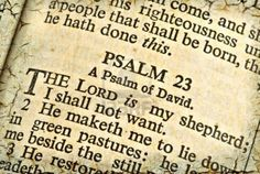 In the 23rd Psalm (Greek numbering: Psalm 22) in the Hebrew Bible/Old Testament, the writer (David) describes God as his Shepherd. Description from pixgood.com. I searched for this on bing.com/images