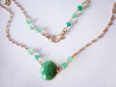 Chrysoprase Necklace Pendant Necklace Delicate Necklace Gemstone Necklace Gold Filled Necklace May Birthstone Green Necklace #StudioVK #Etsy #HandmadeNecklace #ChrysopraseNecklace #GoldFilledNecklace #EverydayNecklace #GreenNecklace #PendantNecklace #GemstoneNecklace #WomenGift #DelicateNecklace #GiftForHer #MinimalistJewelry #MayBirthstone #DaintyNecklace