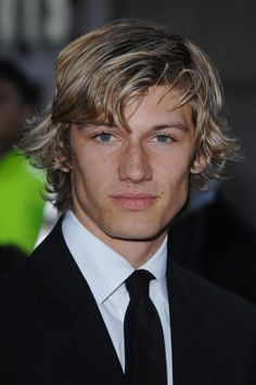 Alex Pettyfer Formal Surfer Hairstyle Picture