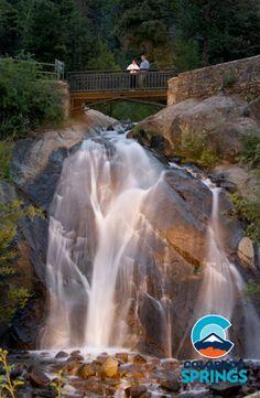 Helen Hunt Falls Colorado Springs, Colorado