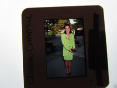 CRYSTAL CHAPPELL DOOL Days Of Our Lives 1990s 35mm slide UNPUBLISHED 1 @crystalchappell @CCnFriends @Cubfnatic