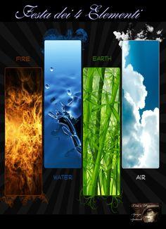 Festa dei 4 Elementi  Fuoco, Aria, Acqua, Terra. Tu quale elemento sei ? Scoprilo con la nostra serata a tema