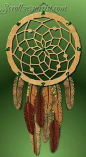 village scenes scroll saw patterns   Native American & Southwestern