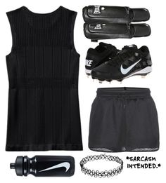 """""""Soccer With Friends"""" by weirdestgirlever ❤ liked on Polyvore featuring 10 Crosby Derek Lam, NIKE, Everlast and ellasfluffycatscontest"""
