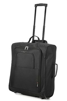 Easyjet & British Airways 56x45x25cm Maximum Cabin Hand Luggage Approved Trolley Bag Huge 60L Capacity (Black) Easyjet British 56x45x25cm Approved Capacity is ranked high among the highest selling products online in Luggage category in UK. Click below to see its Availability and Price in YOUR country.