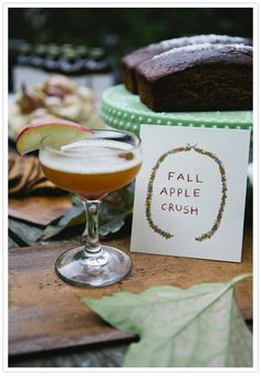 Fall cocktail party inspiration