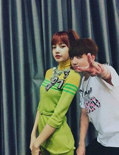 Jungkook came to support Lisa for her concert