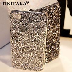 New Style Fashion 3D Hi-Q Luxury Bling Crystal Diamond Rhinestone Hard cover pretty phone case Capa for iphone 5 5S SE cases