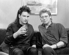 Bono and Adam Clayton Unforgettable Fire