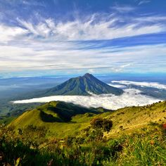 Spectacular Merapi volcano on Java Island #Indonesia