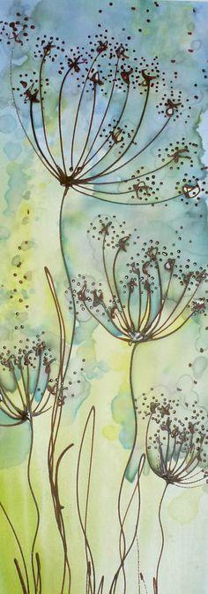 Original silk painting                                                                                                                                                     More