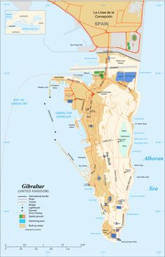 Gibraltar Atlas Maps and line Resources Infoplease