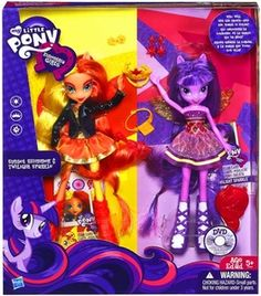My Little Pony Equestria Girls Equestria Girls Doll 2-Pack