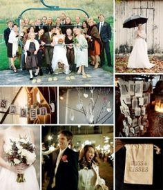 Ski Lodge Themed Wedding by jan